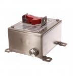 30 Amp Motor Control Switch w/ NEMA 4X Breather Drain, Stainless Steel