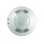 One-Way Dual Tech Ceiling Sensor, Low Voltage, Up To 500 Sq. Ft, 10V-30V, White