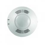 360 Degree PIR Ceiling Sensor, Line Voltage, Up to 500 Sq. Ft, 120V-347V, White