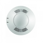 Two-Way Ultrasonic Ceiling Sensor, Low Voltage, Up to 2000 Sq. Ft, 10V-30V, White