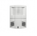 Dual Tech Wall/Corner Occupancy Sensor, Wide Angle, Up TO 1200 Sq Ft, White