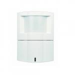 Passive Infrared Wall/Corner Sensor, Up to 90 Linear Ft., White