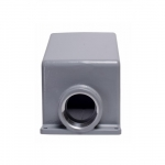 100/125 Amp Back Box for Pin & Sleeve Receptacles, Cast Aluminum