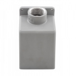 60/63 Amp Back Box for Pin & Sleeve Receptacles, Cast Aluminum