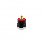30 Amp Color Coded Plug, 3-Pole, 4-Wire, #14-8 AWG, 480V, Red