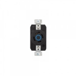 20 Amp Color Coded Receptacle, 4-Pole, 4-Wire, #14-8 AWG, 208V, Blue