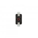 20 Amp Color Coded Receptacle, 4-Pole, 4-Wire, #14-8 AWG, 480V, Red