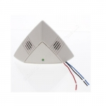 One-Way Ultrasonic Ceiling Sensor, Low Voltage, Up to 500 Sq. Ft, 10V-30V, White