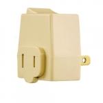 15 Amp Polarized Plug-In Switch, 125V, Ivory