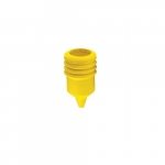 Weather Protective Boot for 15 Amp Hart-Lock Plugs, Yellow