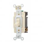 20 Amp Toggle Switch, 4-Way, 120/277V, Ivory