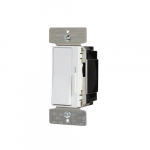 0-10V Decorator Slide Dimmer, Single Pole/3-Way Pole, ON/OFF Switch
