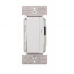 1200/1600W Decora Dimmer, Single Pole/3-Way, Black/Ivory/White