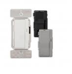 1200/1600W Decora Dimmer, Single Pole/3-Way, Black/Ivory/Grey