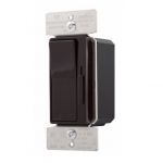 600W Decora Dimmer w/ Preset, Single Pole/3-Way, Brown