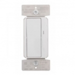 600W Decora Dimmer w/ Preset, Single Pole/3-Way, White