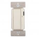 300W LED Decora Dimmer w/ Preset, Single Pole/3-Way, Almond