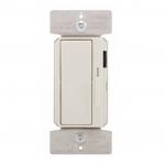 300W LED Decora Dimmer w/ Preset, Single Pole/3-Way, Light Almond