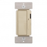 300W LED Decora Dimmer w/ Preset, Single Pole/3-Way, Ivory