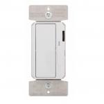 300W LED Decora Dimmer w/ Preset, Single Pole/3-Way, White