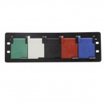 200 Amp Distribution Panel, 5 Receptacles, Grey/White/Black/Red/Blue