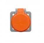 Cam-Lok Receptacle Cover, NEMA 3R, Orange