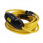 15 Amp Portable GFCI Cord, Watertight, Single-Tap, 25 FT