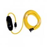 25-ft 15 Amp Portable GFCI Single-Tap Cord, Manual Reset, Watertight