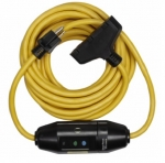 15 Amp Portable GFCI Cord, Watertight, Tri-Tap, 25 FT