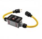 20 Amp Portable GFCI Cord, Watertight, Automatic, 2FT