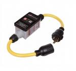 30 Amp Portable GFCI Cord, Watertight, Manual, 2FT