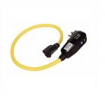15 Amp Portable GFCI Cord, Watertight, Tri-Tap Plug, 25FT