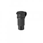30 Amp Locking Connector, Watertight, NEMA L20-30, Black