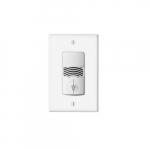 Dual Relay Wall Switch w/ Occupancy Sensor, 120V-277V