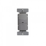 2200W Occupancy Sensor & Dimmer w/LED, Grey