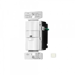 2200W Occupancy Sensor & Dimmer w/LED, Light Almond