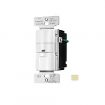 2200W Occupancy Sensor & Dimmer w/LED, Ivory