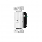 2200W Occupancy Sensor & Dimmer w/LED, White