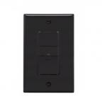 600W Occupancy Sensor Switch, Incandescent, Single-Pole, Black