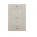 600W Occupancy Sensor Switch, Incandescent, Single-Pole, Light Almond