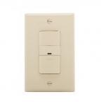 600W Occupancy Sensor Switch, Incandescent, Single-Pole, Ivory