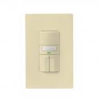 1000W Dual Switch Motion Sensor w/ Nightlight, Single-Pole, Ivory