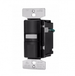 1000W Occupany Motion Sensor w/ Nightlight, Single-Pole, Black
