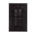 800/2200W Dual Switch Sensor, Single-Pole, Black