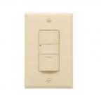 800/2200W Sensor Switch, Incandescent, Single-Pole, Light Almond