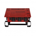 50 Amp Power Center, NEMA 3R, Manual Reset, Red