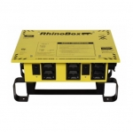 50 Amp Power Center, NEMA 3R, Manual Reset, Yellow