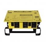 50 Amp Power Center, NEMA 3R, Manual Reset, Yellow