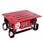 50 Amp Power Center,NEMA 3R, Weatherproof, Manual,Red