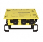 50 Amp Power Center, NEMA 3R, Weatherproof, Automatic, Yellow